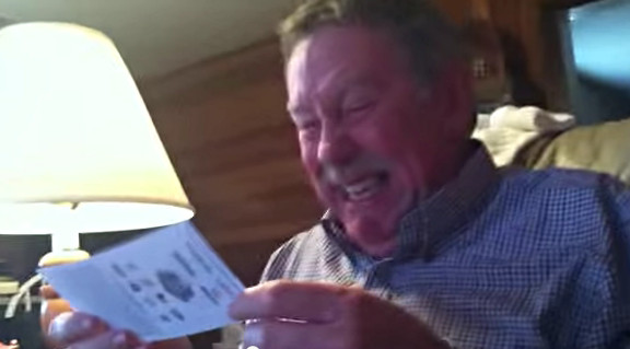 Dad's Reaction To Getting A Ticket To The Game - YouTube (2)