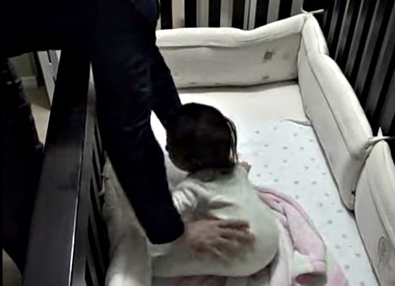 Father goes into baby crib - YouTube (1)