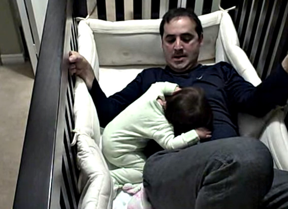 Father goes into baby crib - YouTube (4)