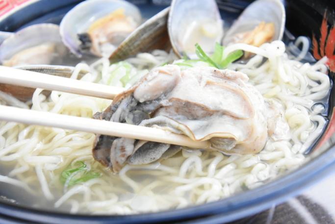 厚岸牡蠣とアサリの釧路塩ラーメン3