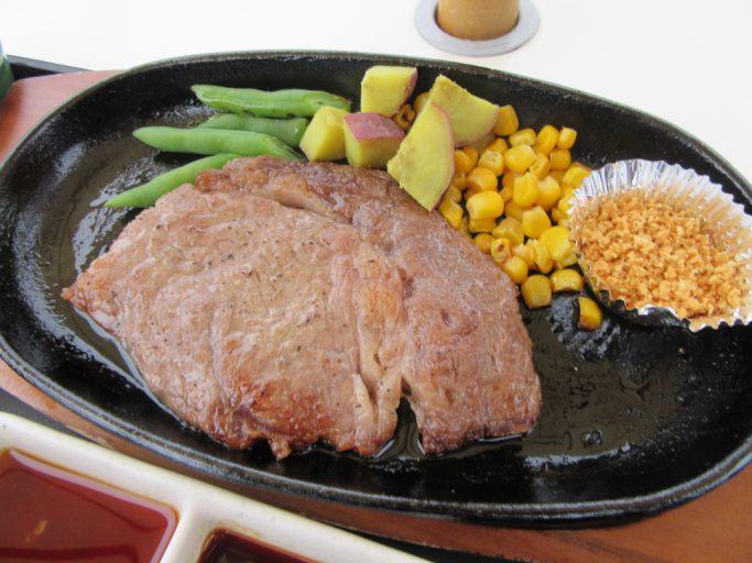 瑞穂牛ロースステーキ定食