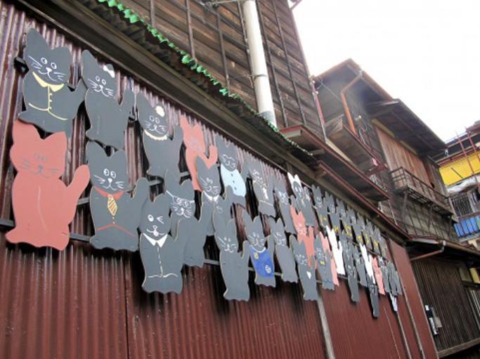 昭和の猫町 にゃにゃまがり