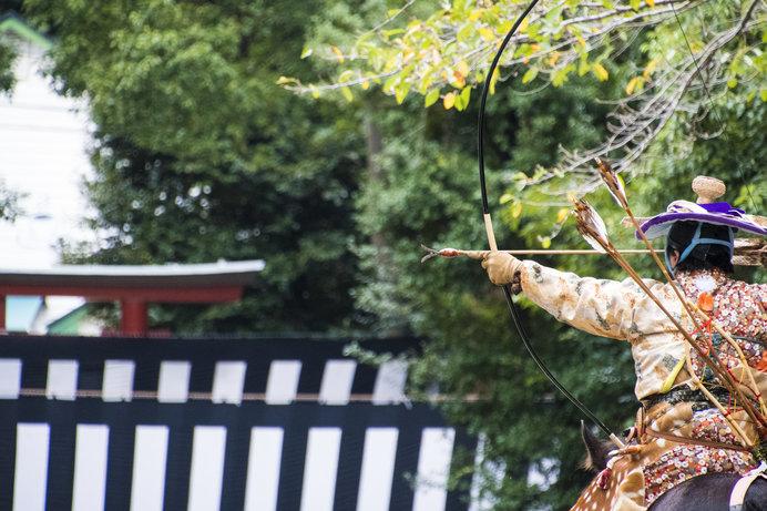 鎌倉時代から続く鶴岡八幡宮の流鏑馬(やぶさめ)