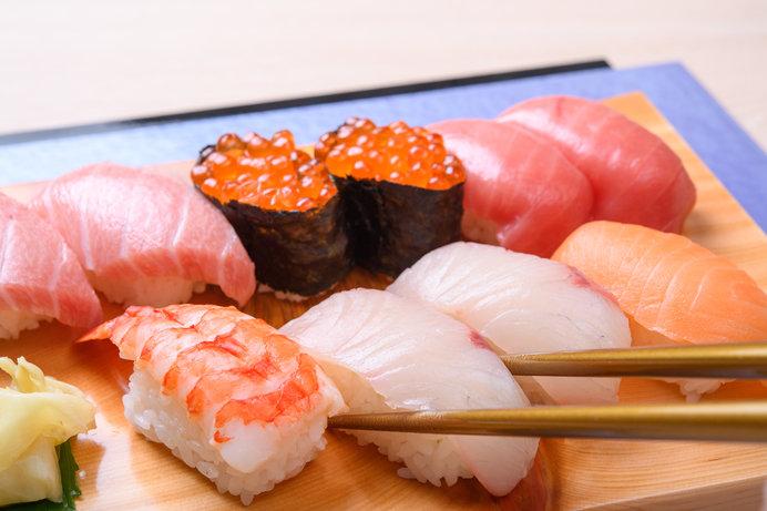 築地へ行ったら寿司は外せませんね!